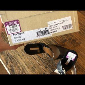 Michael Kors Shoes - Michael Kors Black Heels